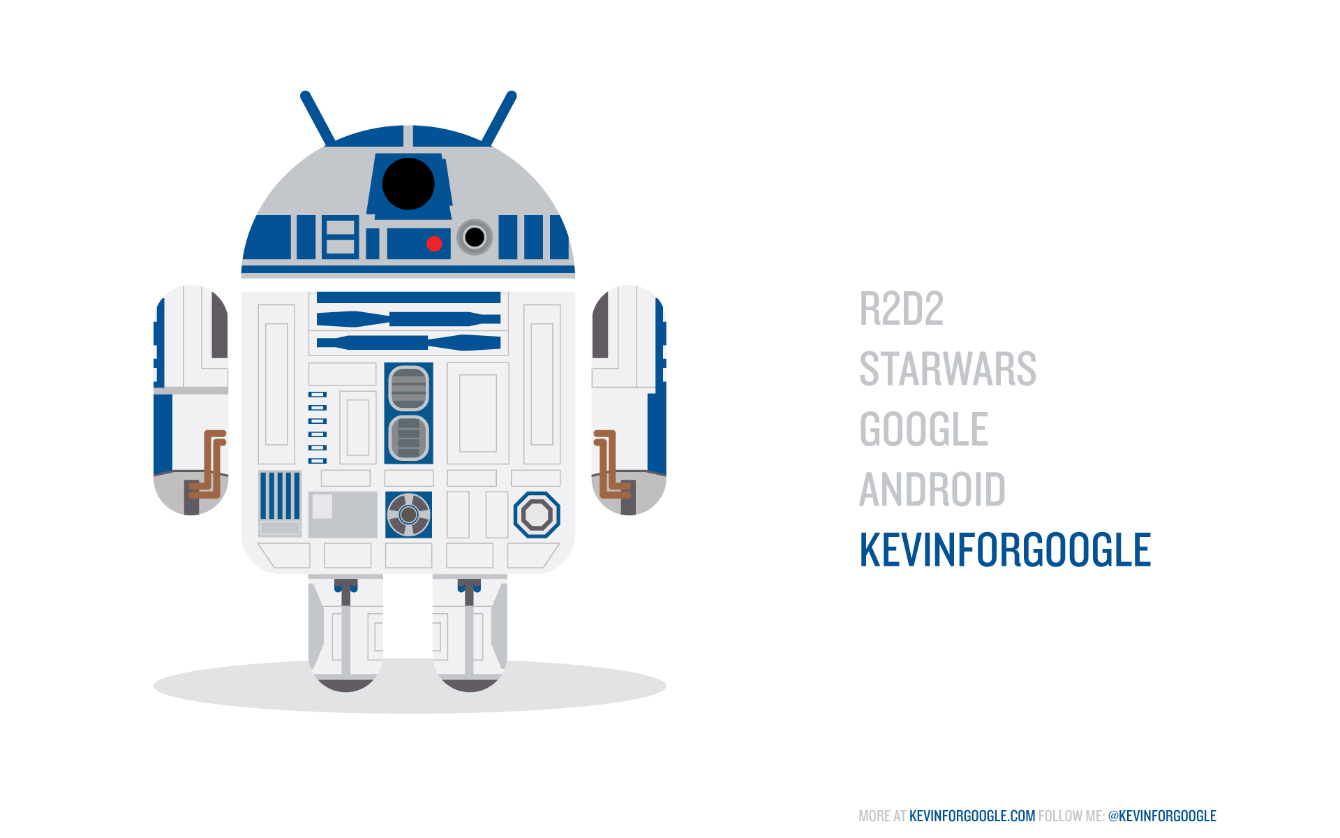 R2d2 x android project wallpaper